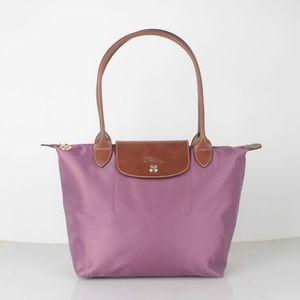 LONGCHAMP  Le Pliage Lilac Tote